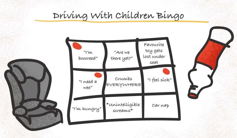 child car bingo graphic