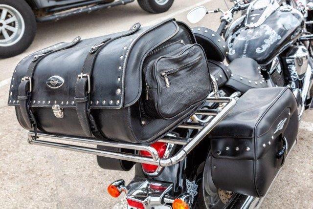 Packing motorbike