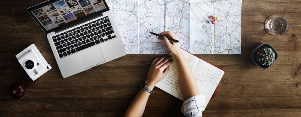 planning a road trip route