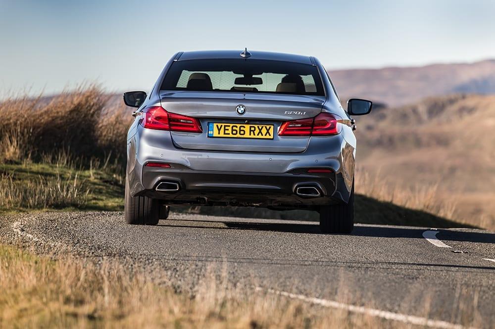 BMW 520d rear