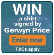 Win a Gerwyn Price shirt