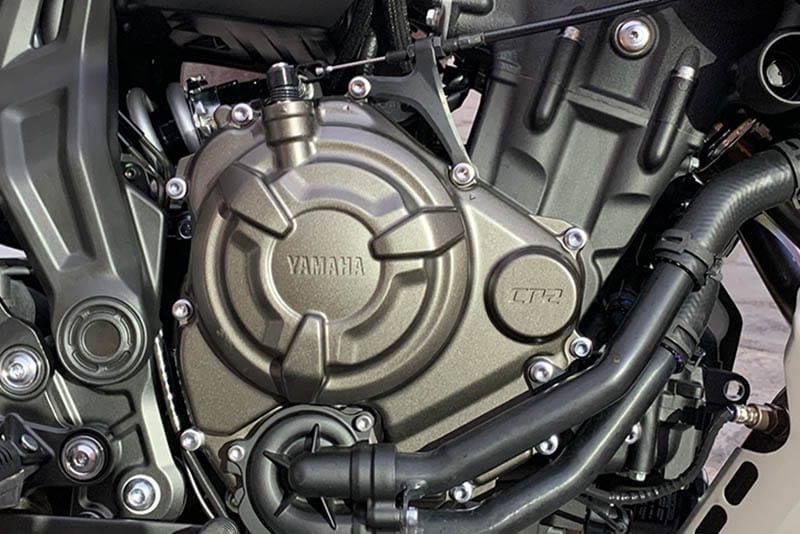 Yamaha Tracer engine
