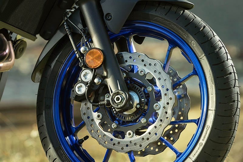Yamaha Tracer 700 wheel