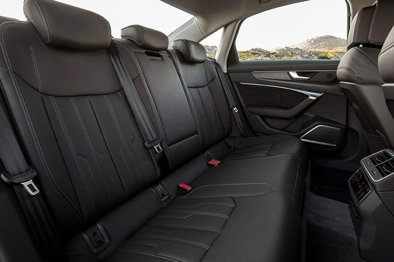 Audi A6 rear interior