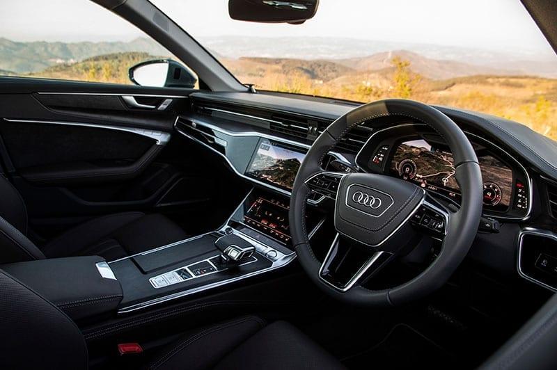 Audi A6 interior