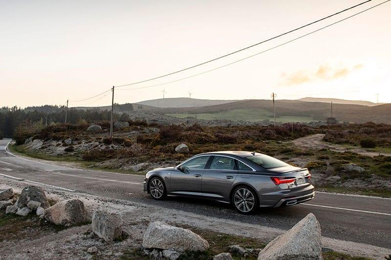 Audi A6 side view