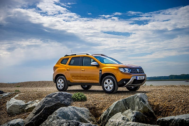 Dacia Duster side view