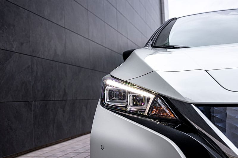 Nissan Leaf front view