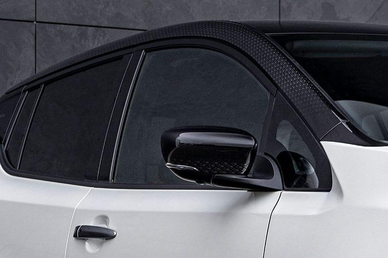 Nissan Leaf close up view