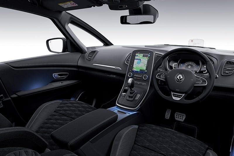 Renault Scenic steering wheel