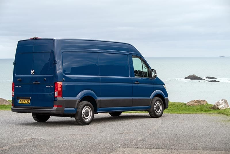 VW Crafter side view